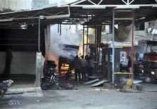 Explosões deixaram ao menos 20 mortos na capital síria nesta quarta-feira. 28/11/2012 REUTERS/Sana