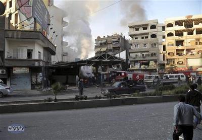 Car bombs kill 34 in pro-Assad Damascus suburb