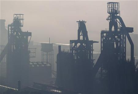 General view of the ArcelorMittal Florange-Hayange blast furnace in Hayange, Eastern France, October 1, 2012. REUTERS/Vincent Kessler