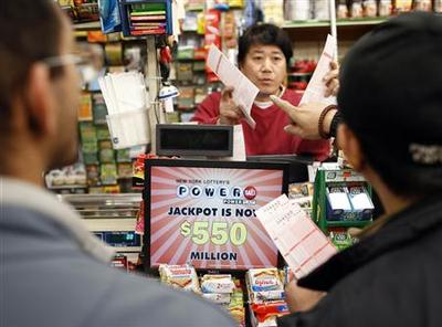 $550 million Powerball jackpot drives ticket frenzy
