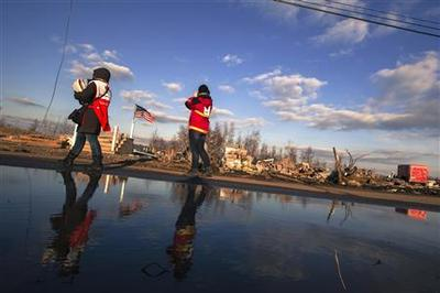 New York lobbies for $42 billion in Sandy disaster aid