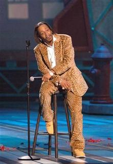 Comedian Katt Williams performs during the taping of the BET Comedy Awards at the Pasadena Civic Auditorium in Pasadena, California, September 25, 2005. REUTERS/Phil McCarten