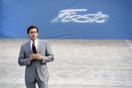 Mark Fields, President of the Americas at Ford Motor Company, speaks during a news conference at the 2012 Los Angeles Auto Show in Los Angeles, California November 28, 2012. REUTERS/Phil McCarten