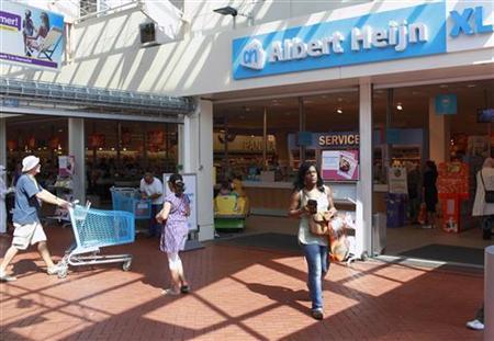 An Albert Heijn supermarket is seen in Utrecht August 20, 2009. REUTERS/Michael Kooren
