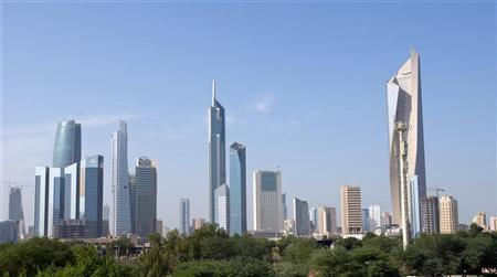 A general view of Kuwait City November 10, 2012. Picture taken November 10. REUTERS/Stephanie Mcgehee