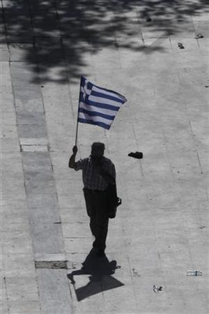 REUTERS/John Kolesidis (GREECE - Tags: POLITICS BUSINESS EMPLOYMENT CIVIL UNREST)