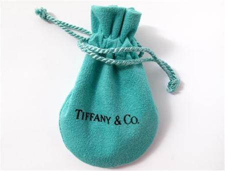 Jewelry packaging from Tiffany & Co. is shown in this illustration photograph taken in Encinitas, California March 19, 2012. REUTERS/ Mike Blake