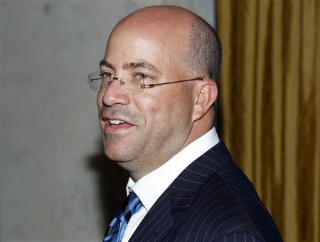 President and Chief Executive Officer of NBC Universal Jeff Zucker arrives at the Simon Wiesenthal Center's 2010 Humanitarian Award Ceremony honoring producer Brian Grazer and director Ron Howard in Beverly Hills, California in this May 5, 2010, file photo. REUTERS/Danny Moloshok/Files