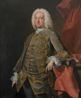 Charles Jennens is seen in a 1740-49 oil painting by Thomas Hudson. Handel House Museum in London is staging an exhibition on librettist Charles Jennens, whose crucial role in the creation of Handel's famous choral work ''Messiah'' has been largely overlooked until now. REUTERS/Handel House Collections Trust/handout