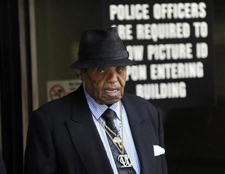 Joe Jackson, father of the late pop star Michael Jackson is seen in Los Angeles in this September 28, 2011 file photo. REUTERS/Gus Ruelas