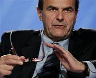 Il segretario del Pd Pier Luigi Bersani. REUTERS/Remo Casilli