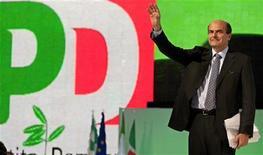 Il leader del Pd Pier Luigi Bersani. REUTERS/Max Rossi