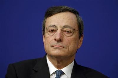 Leave ''fairy world'' behind, Draghi tells euro zone