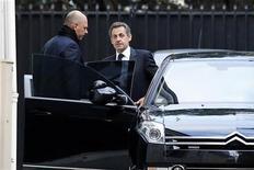 <p>Nicolas Sarkozy a enjoint vendredi à Jean-François Copé et François Fillon de se mettre d'accord rapidement sur une solution pour mettre un terme à la crise à l'UMP. /Photo prise le 30 novembre 2012/REUTERS/Benoît Tessier</p>