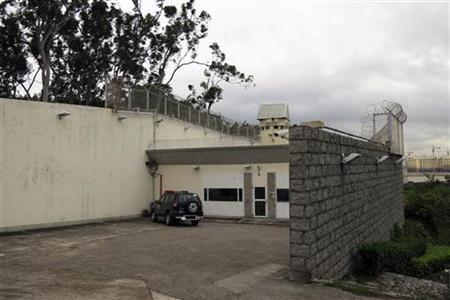 The prison where Wan Kuok-koi, a senior leader of the 14K organised crime triad, has been held for over 14 years in Macau, is seen in this exterior view taken November 26, 2012. REUTERS/James Pomfret