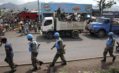 Congo rebels quit Goma, saying it's ''for peace''