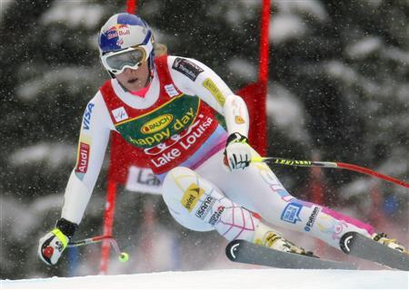 Vonn maintains unbeaten run in Lake Louise