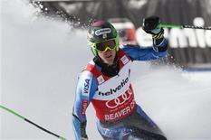 <p>L'Américain Ted Ligety a remporté dimanche le slalom géant de Beaver Creek, dans le Colorado, avec près d'une seconde d'avance sur toute la concurrence dans la deuxième manche. /Photo prise le 2 décembre 2012/REUTERS/Rick Wilking</p>