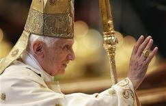 Papa Bento 16 vai enviar seu primeiro tweet a partir do dia 12 de dezembro pelo perfil @pontifex. 25/11/2012 REUTERS/Tony Gentile