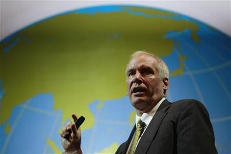 Boston Fed President Eric Rosengren speaks during the Sasin Bangkok Forum in this file photo taken July 9, 2012. REUTERS/Sukree Sukplang