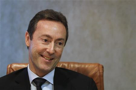 Airbus CEO Fabrice Bregier is seen during an interview with Reuters in London, December 3, 2012. REUTERS/Simon Newman (