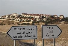 Assentamento judaico de Maale Adumim, é visto próximo a Jerusalém. Israel rejeitou na segunda-feira as críticas dos Estados Unidos e da Europa à sua decisão de ampliar seus assentamentos em territórios ocupados, depois do reconhecimento implícito da Organização das Nações Unidas (ONU) ao Estado palestino. 03/12/2012 REUTERS/Ammar Awad