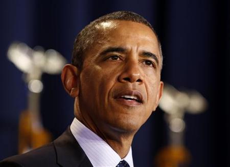 U.S. President Barack Obama in Washington, December 3, 2012. REUTERS/Larry Downing