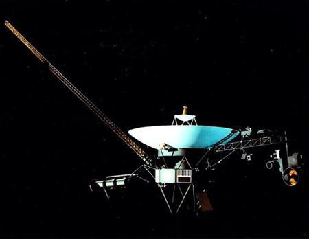 Undated image of the Voyager 1 spacecraft. REUTERS/Handout