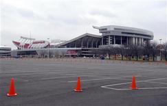 Kansas City Chiefs Arrowhead Stadium is seen following an apparent murder-suicide involving Chiefs' linebacker Jovan Belcher in Kansas City Missouri December 1, 2012. REUTERS/Dave Kaup