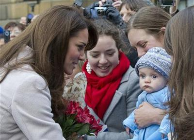 UK's Prince William and wife Kate expecting a baby