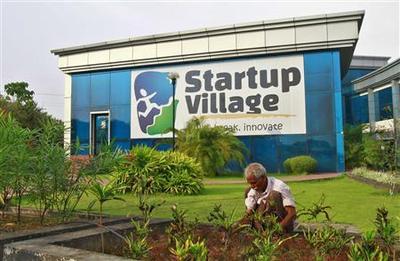 India sets up seaside ''village'' to nurture software...
