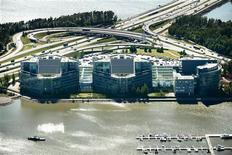 Nokia anunciou a venda do edifício-sede da empresa em Espoo por 170 milhões de euros como estratégia para reduzir ativos. 14/06/2012 REUTERS/Benjamin Suomela/Lehtikuva