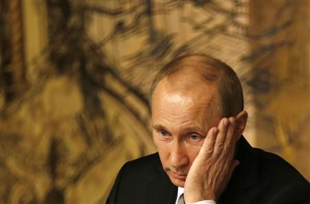 Russia's President Vladimir Putin attends a news conference in Istanbul December 3, 2012. REUTERS/Murad Sezer