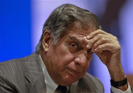 Tata Group Chairman Ratan Tata attends the annual general meeting of Tata Steel Ltd., in Mumbai August 14, 2012. REUTERS/Danish Siddiqui