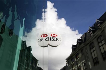 A bank branch of HSBC is seen in St Helier, Jersey November 11, 2012. REUTERS/Stefan Wermuth