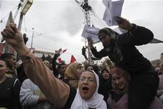 Manifestazioni anti-Mursi ieri al Cairo. REUTERS/Amr Abdallah Dalsh