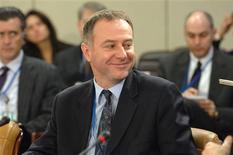El embajador de Serbia ante la OTAN se suicidó el miércoles saltando desde un aparcamiento de varias plantas en el aeropuerto de Bruselas, dijeron las autoridades, mientras Serbia indicó que estaba investigando el asunto. En la imagen, Branislav Milinkovic, embajador de Serbia ante la OTAN, en una fotografía de archivo de 2006 en Bruselas. REUTERS/OTAN/Handout