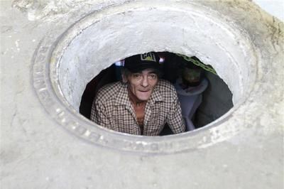 Living in a sewer