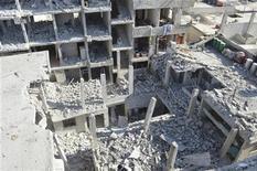 Síria enfrenta derramamento de sangue há 20 meses após o levante de rebeldes contra o governo do presidente Bashar al-Assad. 02/12/2012 REUTERS/Karm Seif/Shaam News Network/Handout