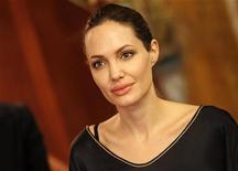 Atriz Angelina Jolie estreia na direção de filme sobre a guerra na Bósnia, na antiga Iugoslávia. 14/09/2012 REUTERS/Umit Bektas