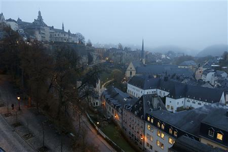 General view of the city of Luxembourg in this picture taken on November 20, 2012. REUTERS/Francois Lenoir