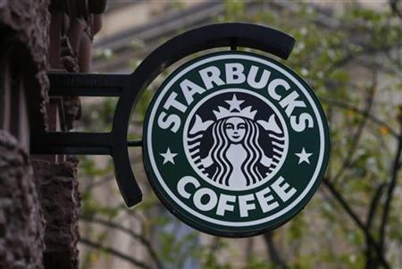 A Starbucks logo is pictured in Frankfurt October 30, 2012. REUTERS/Ralph Orlowski