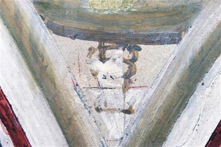Restorers may have found Giotto initials in Assisi
