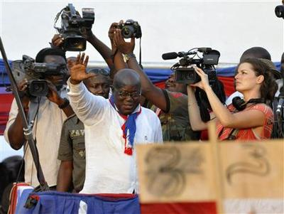 Ghana election to test credentials of ''model democracy...