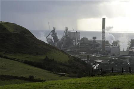 The Tata Steel plant is seen in Port Talbot, south Wales, November 23, 2012. REUTERS/Rebecca Naden
