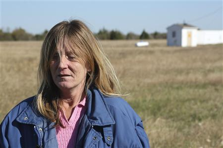Pam LaRose, sister of Colleen LaRose, gives an interview to Reuters about her sister Colleen LaRose, also known as ''Jihad Jane,'' in this file photo taken November 12, 2012 in Ferris, Texas. USA-JIHADJANE/ REUTERS/Andy Lampard/Files