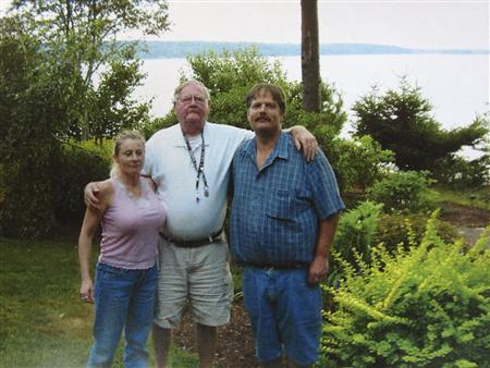 Colleen LaRose (L), a Pennsylvania woman who named herself ''Jihad Jane,'' is seen with her boyfriend Kurt Gorman (R) and his father David Gorman (C) in an undated family photo believed to have been taken sometime between 2005 and 2009 and supplied by her family. The Pennsylvania woman pleaded guilty to plotting to kill a Swedish cartoonist who had depicted the Prophet Mohammed in a way that is offensive to Muslims. REUTERS/Family Photo/Handout