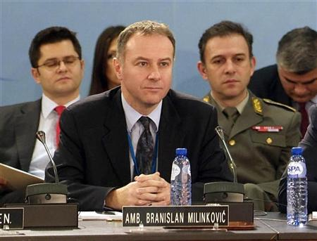 Illness leads Serb ambassador to NATO to suicide