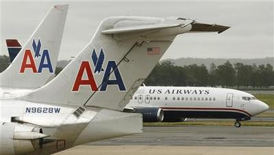 US Air makes merger offer, AMR pilots approve labor...