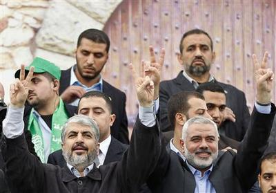 Feted in Gaza, Hamas leader hits out at Israel
